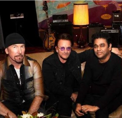 U2 + A.R. RAHMAN