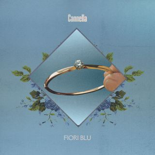 Fiori blu, di Cannella