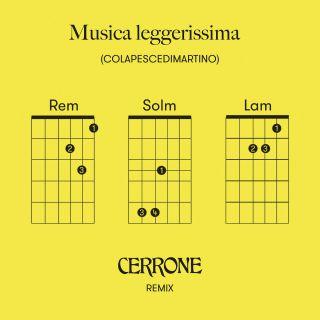 Colapesce & Dimartino - Musica leggerissima (Cerrone Remix) (Radio Date: 20-04-2021)
