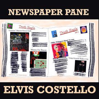 Elvis Costello - Newspaper Pane