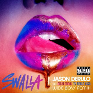Jason Derulo - Swalla (feat. Nicki Minaj & Ty Dolla $ign) (Wideboys Remix) (Radio Date: 21-04-2017)