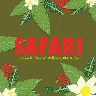 J Balvin - Safari (feat. Pharrell Williams, BIA & Sky) (Radio Date: 15-07-2016)