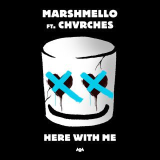 Marshmello - Here With Me (feat. Chvrches) (Radio Date: 12-04-2019)