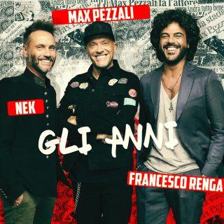 Max Nek Renga - Gli anni (Radio Date: 27-12-2017)