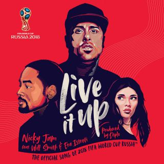 Nicky Jam - Live It Up (feat. Will Smith & Era Istrefi) (Radio Date: 01-06-2018)
