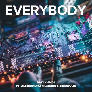Paki & Andj - Everybody (feat. Alessandro Frassine & Simonoize) (Radio Date: 10-09-2021)
