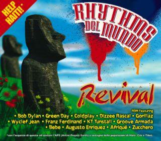 """Rhythms Del Mundo - """"Revival"""". In tutti i negozi di dischi da martedì 28 settembre!"""