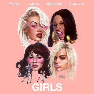 Rita Ora - Girls (feat. Cardi B, Bebe Rexha & Charli XCX) (Radio Date: 11-05-2018)