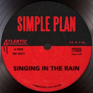Simple Plan - Singing in the Rain (Radio Date: 29-04-2016)