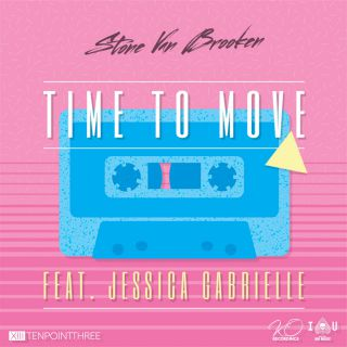 Stone Van Brooken - Time to Move (feat. Jessica Gabrielle) (Radio Date: 10-11-2017)