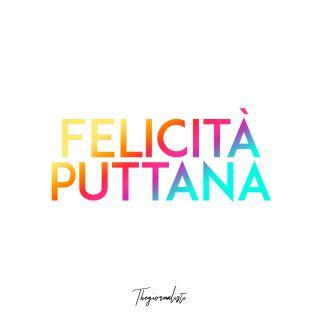 Thegiornalisti - Felicità puttana (Radio Date: 15-06-2018)